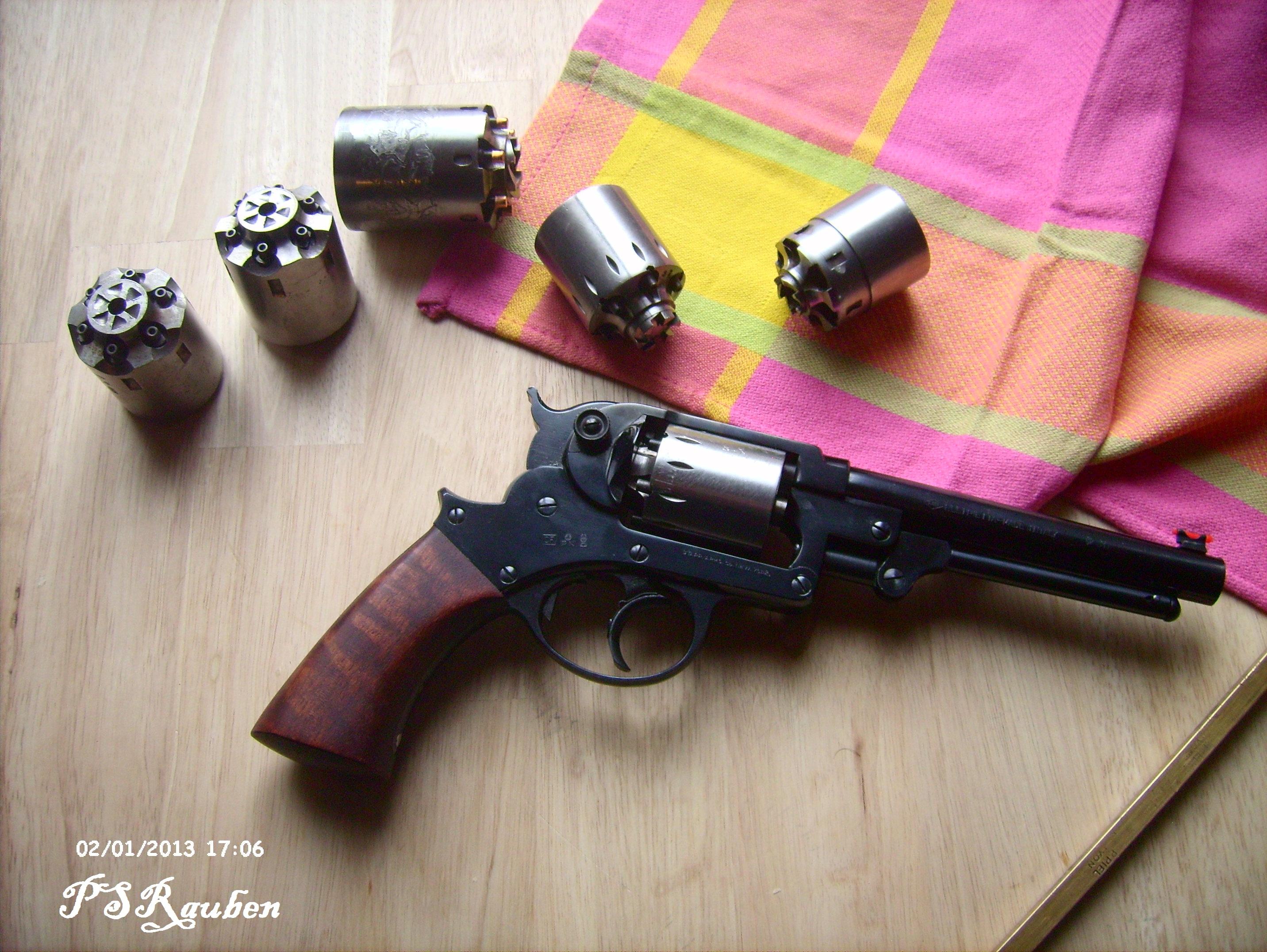 2 les revolvers poudre noire cal 44 carcasse ferm e - Arme occasion particulier ...