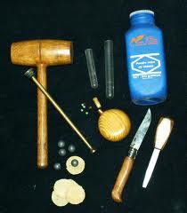 chargement avec les outils du poudreux