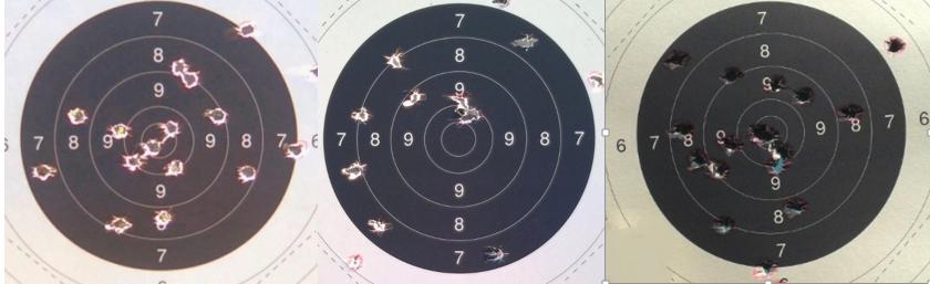 guidon de revolver  u00ab la poudre noire  entre l u0026 39 oeil et la cible
